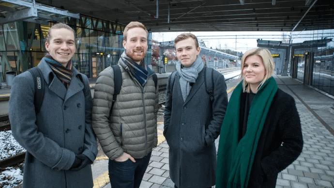 Utbytesstudenter tar tåget utomlands – ett led i hållbart resande 1