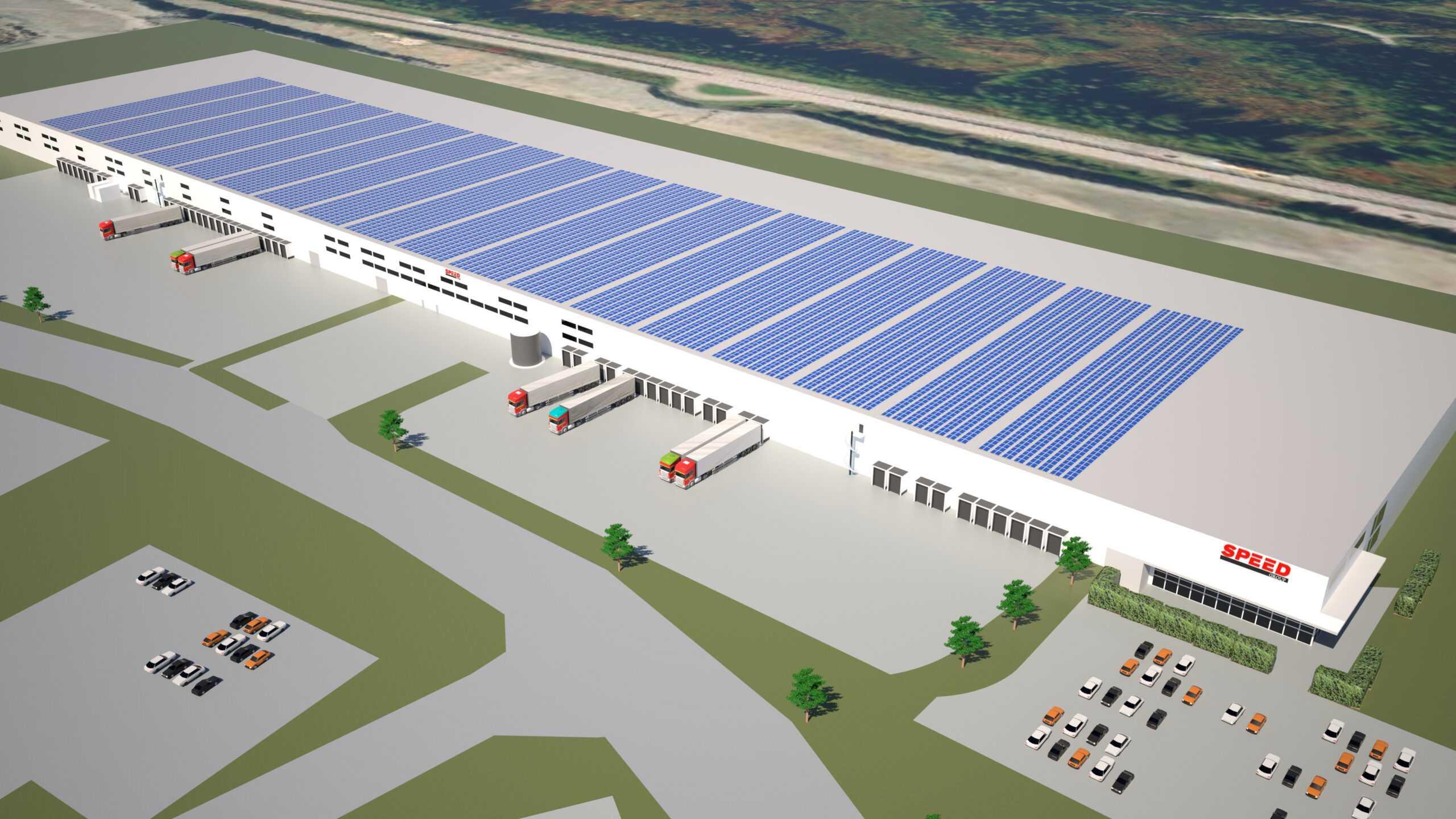 Speed Group bygger Nordens största solcellstak 1