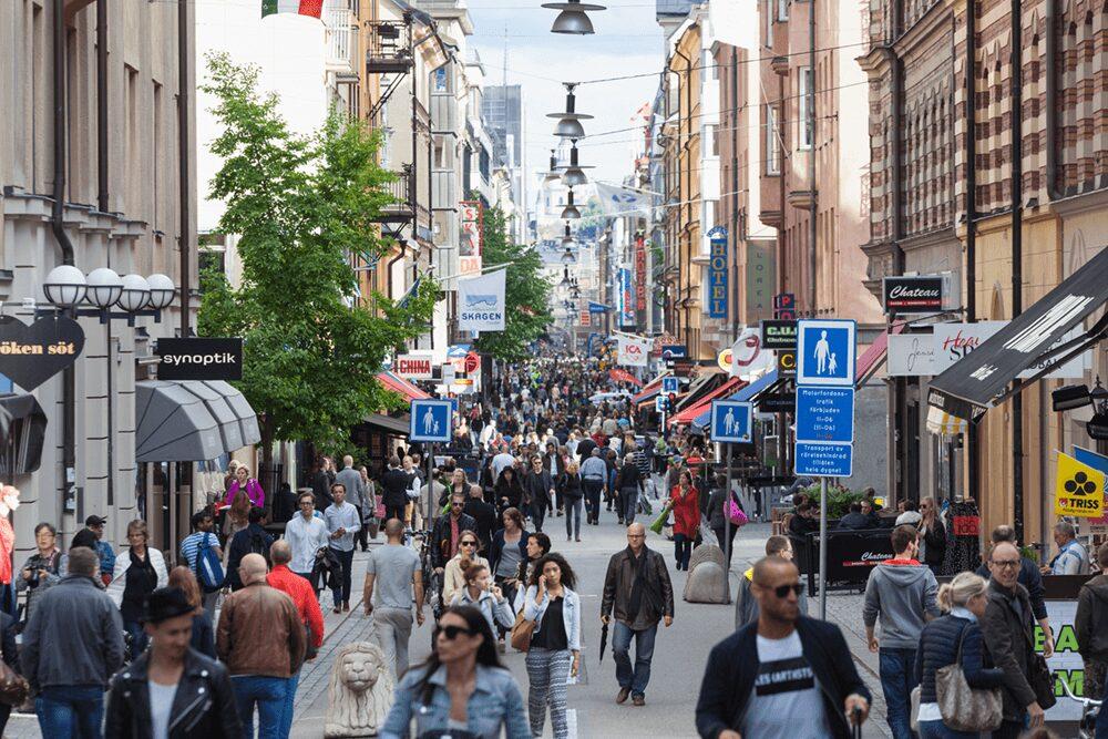 Stor nedgång för Stockholm City under andra kvartalet 3