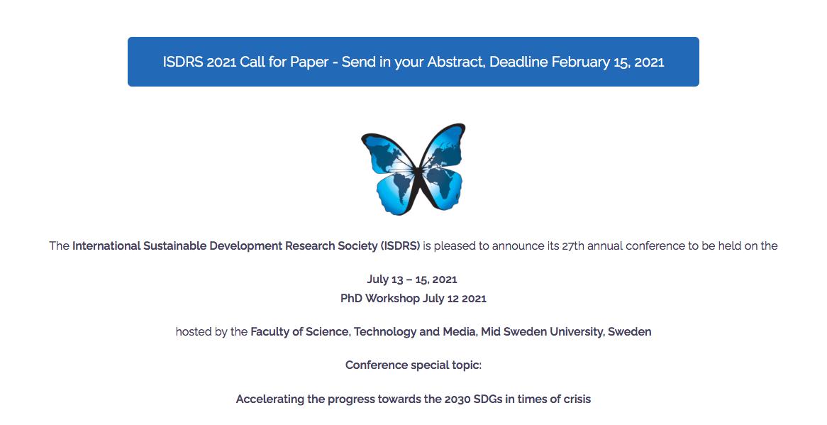 ISDRS konferens 2021