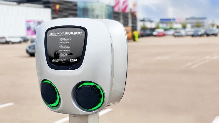 Väla blir en av Sveriges största laddplatser för elbilar