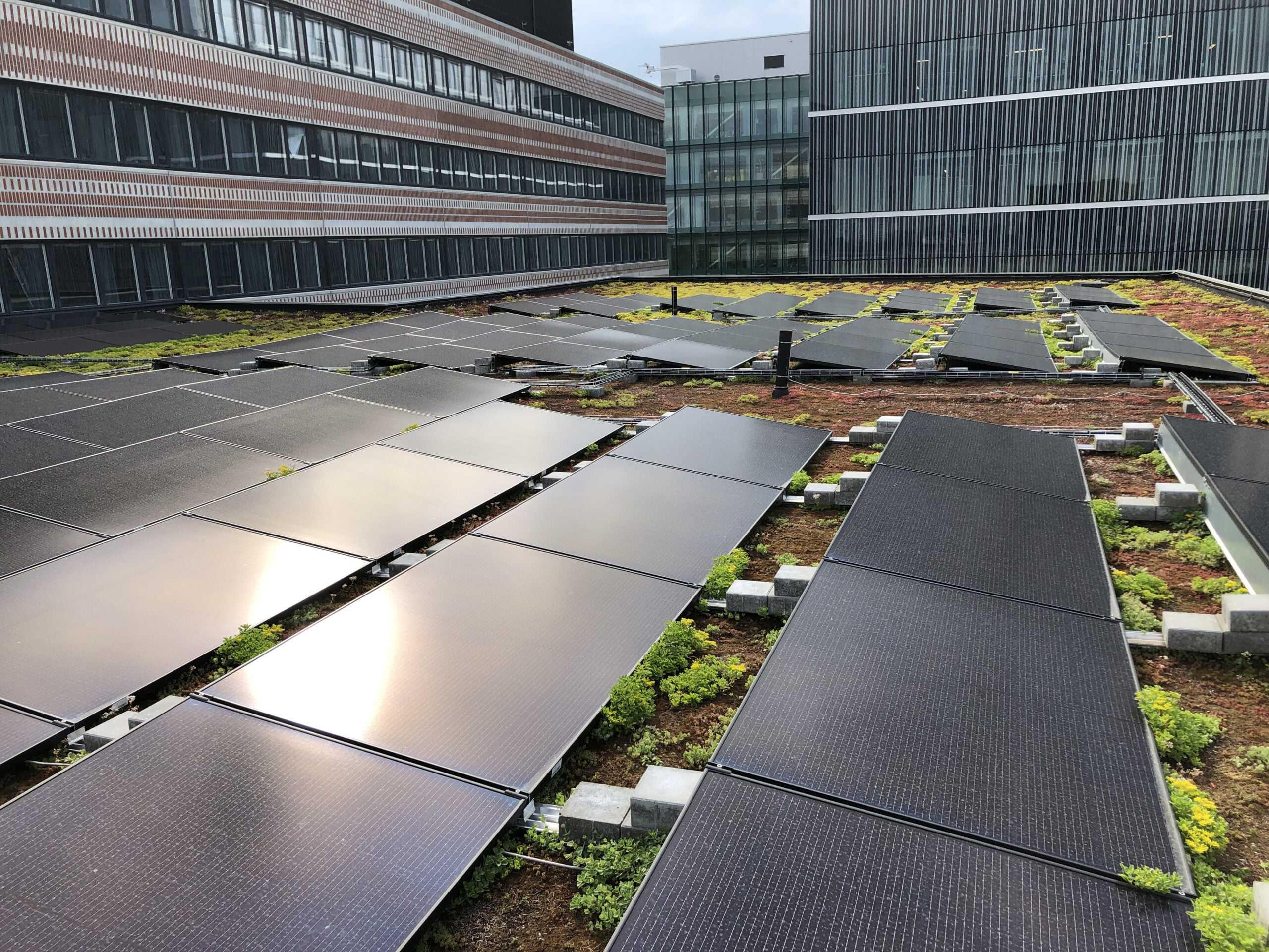 Campus Solna Installerar solceller