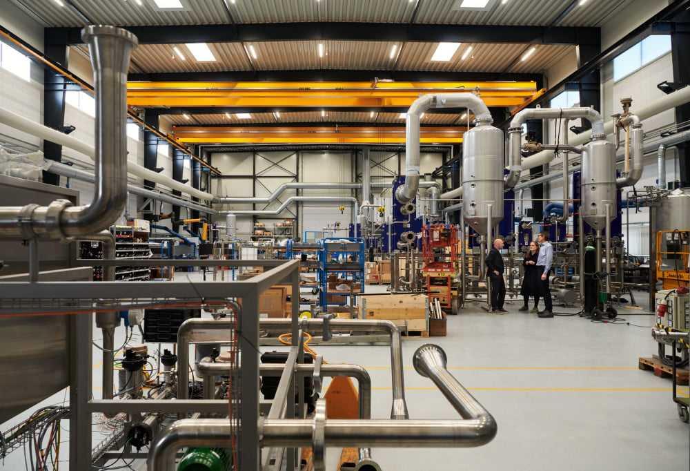 Utveckling av mikrofabriker för hållbar vatten- och dryckesförsörjning