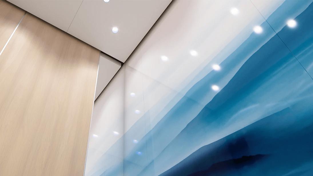 Byggvarubedömningen accepterar den första digitala hissen med bedömning