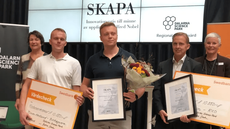Årets SKAPA-innovatörer i Dalarna har fokus på hållbara innovationer